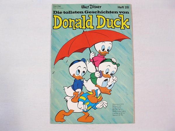Tollste Geschichten Donald Duck 28 Ehapa (Z 1) 35510