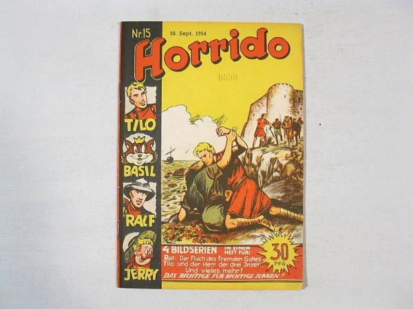 Horrido Comic Heft Nr. 15 Danehls Verlag 36631
