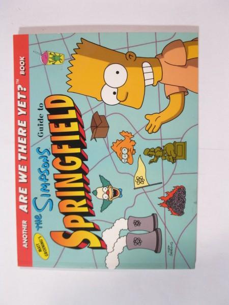 Simpsons Cityguide Springfield US Ausgabe im Zustand (1) 81349