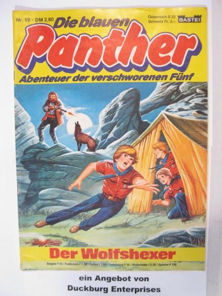 blauen Panther Nr. 19 Bastei Verlag im Zustand (1-2) 48820