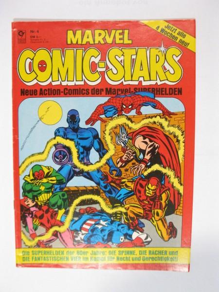 Marvel Comic Stars Nr. 4 Superhelden Condor Vlg. 1981 im Zustand (1-2) 78939