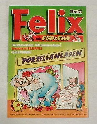 Felix Nr. 974 Bastei Verlag 17039 mit Silberpfeil