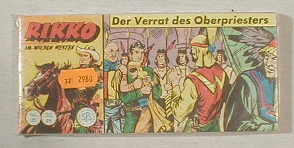 Rikko Piccolos Nr.25-28 Hethke Nachdruck Lehning 24271+