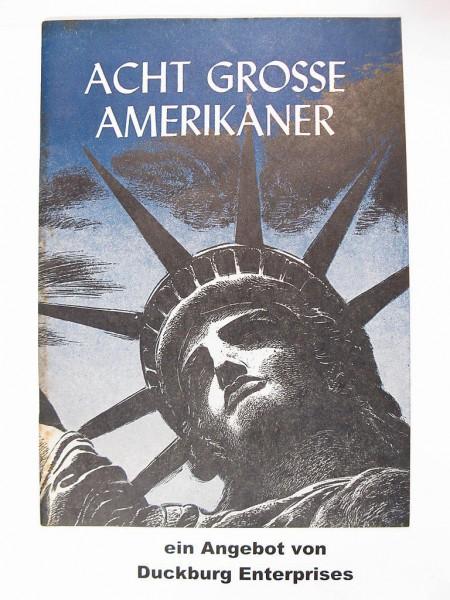 Acht grosse Amerikaner Comic v. 1950 Aussenministerium der USA 40470