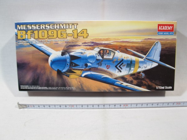 Academy 1653 Messerschmitt Bf 109 G-14 1:72 sealed in box mb3765