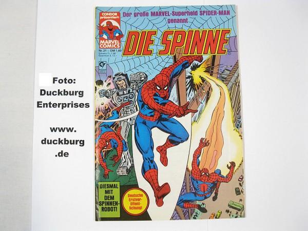 Spinne Nr. 21 Marvel Comic Condor Vlg. in Z(0-1) 39433