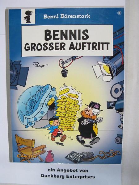 Benni Bärenstark Nr. 8 Carlsen Comic Erstauflage im Zustand (0-1) 45375