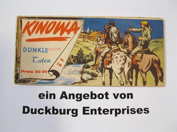 KINOWA Nr. 19 Piccolo Semrau Verlag 40492