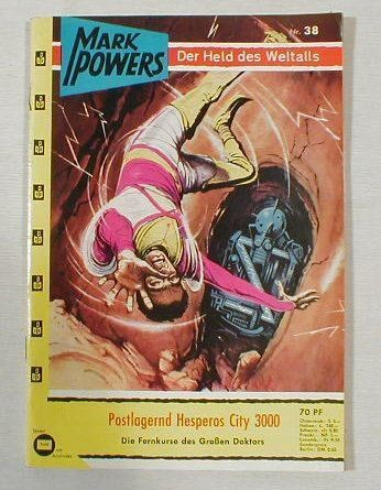 Mark Powers Nr. 38 Science Fiction Pabel 14611 in Z 1