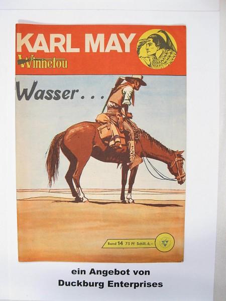 Karl May 14 Lehning Vlg. (Winnetou) in Z (1-2) 41527