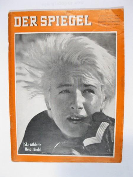 Der Spiegel Nr. 6 vom 7.2.1962 Originalheft Heidi Biebl Ski 78757
