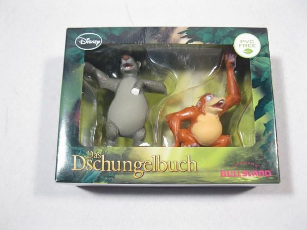 Dschungelbuch Balu + King Louie neu + OVP Set 13043 Bullyland 83739